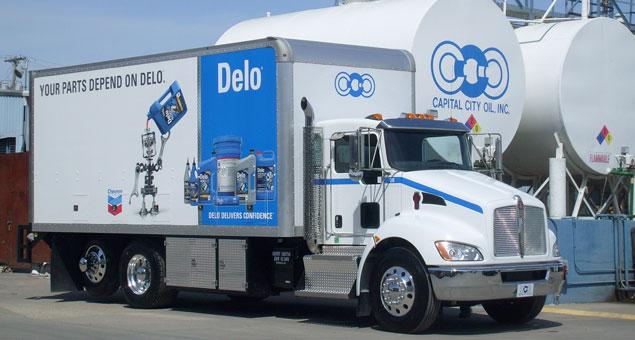 Delo Delivery Truck